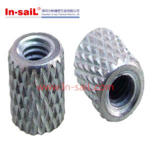 Insert fileté écrous moletés en aluminium
