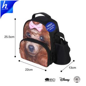 Полиэстер обед мешок из охладителя с помощью строп рюкзак для использования вне помещений