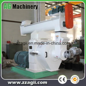 中国の製造1-1.5t。 Hの水平のリングは生物量の米の殻の餌機械を停止する