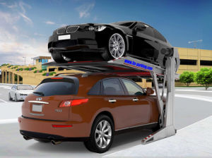 Home Use를 위한 유압 Luffing Simple Lifting Parking System Two Post