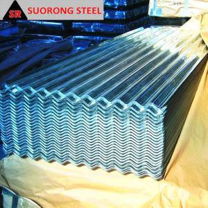 0.15 Strato d'acciaio ondulato tuffato caldo del tetto galvanizzato Gi di SGCC