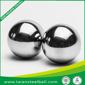 Esfera de aço inoxidável com alta precisão