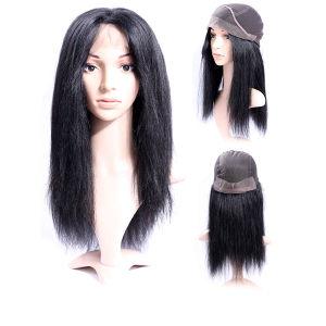 Pas de chute libre Tangle perruque de cheveux humains