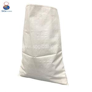 Durável 50kg 100kg Saco de PP branco para farinha de arroz de grão