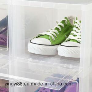 Doos van de Schoen van de douane de Glasheldere Acryl Grote