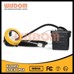 最上質の知恵Kl8ms抗夫のワイヤーヘッドライト、地下の帽子ランプ