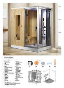 Clásico de lujo cuarto de ducha de vapor (D552)