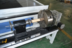 3D de madera / Router CNC Router de madera CNC 4 ejes giratorios con precios baratos