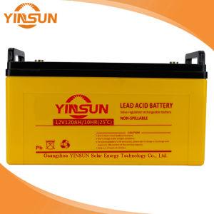 12V120Ah batería solar para fuera de la red del sistema de Energía Solar