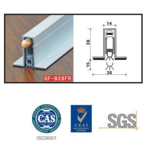 Joint de porte en aluminium GF-B028FR pour le signal sonore