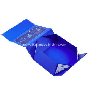 Rectángulo de papel del regalo magnético ULTRAVIOLETA del punto con una funda