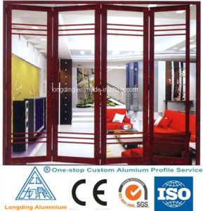 Profilo di alluminio di legno per Windows ed il portello Windows di alluminio di legno