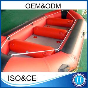 Novo Design Rafting insufláveis raquete barcos a remos Rafting Boat