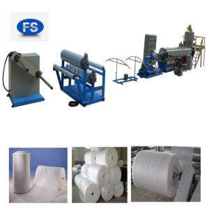 Máquina de tubo de espuma de extrudados e máquina de rolo de espuma PE