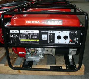 5.5KW het Type van Protable van de Generator van de Benzine van Honda