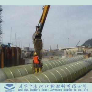 발전소를 위한 GRP FRP 배관 그리고 굴곡