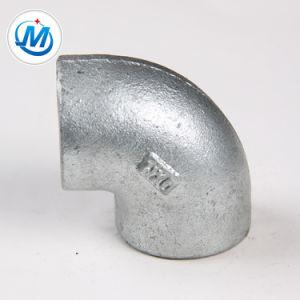 Montagem do Tubo de ferro maleável com o cotovelo de Rosca BSP