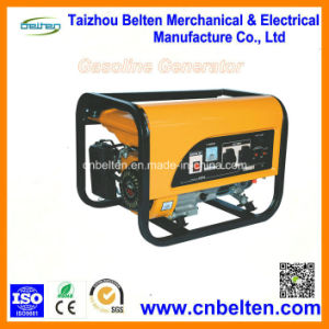 100% de alambre de cobre Singel Pahse AC 5kw Generador Gasolina