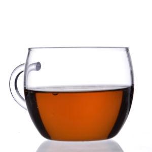 Einzelner Wand-Borosilicat-Glas-Tee mit Griff