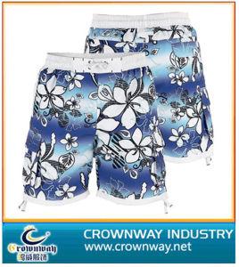 Men's nager Shorts 100 % polyester avec insertion de maillage de la plage de surf short board Short Shorts hommes du Conseil de courts-circuits
