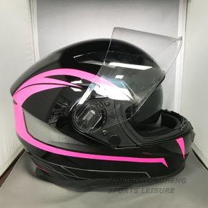 De la CEPE de adultos y un punto de cara completa aprobado moto Scooter Motos casco
