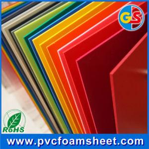 Fabricante de Shanghai 1-5mm de espuma de PVC pantalla de la hoja de material de impresión