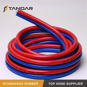 Quarto Twin de PVC flexível da pressão do tubo de borracha de solda para a máquina