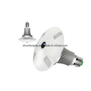 1.3MP 960p HD Fisheye 360 Grad-Kamera panoramische Lampen-Glühlampe-Kamera IP-bidirektionale Audio Ableiter-Karten-Sicherheit CCTV-Vr