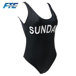 Het Ééndelige Zwempak van de Douane van Swimwear van de Douane van het Badpak van de douane