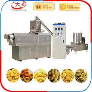 Différentes formes d'aliments de collation de maïs extrusion de la machine