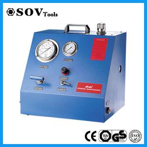 Haute pression de pompe hydraulique entraînée par l'air pneumatique