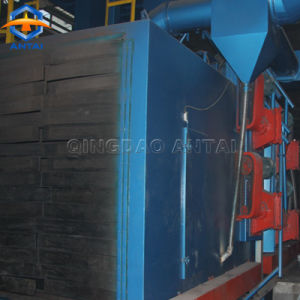 Qh69 롤러 컨베이어 유형 강철 플레이트 탄 폭파 기계
