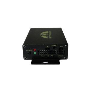 Cartão duplo SIM Rastreador GPS 105 com Monitor de combustível e leitor de RFID