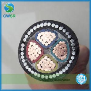 Isolados e revestida de PVC 3X1.5mm2 Fio do cabo de alimentação elétrica