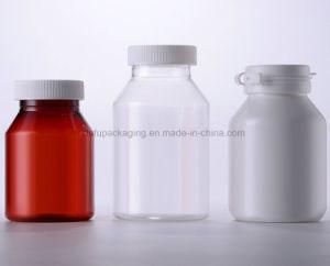 200ml vaso de Medicina de garrafa pet garrafa de plástico com tampa de plástico