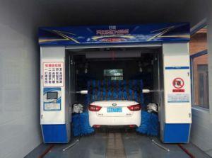 南アメリカのカーウォッシュへの自動移動車の洗濯機
