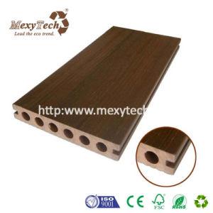 Foshan-Hersteller-KoextrusionWPC hölzerner Plastikdecking-Fußboden