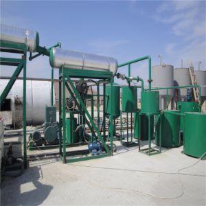 El vacío de la máquina de cambio de aceite de motor usado aceite de base amarillo