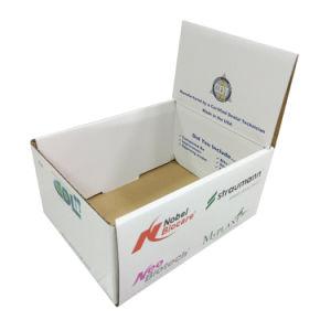 Conception originale PDQ Boîte d'affichage en carton ondulé