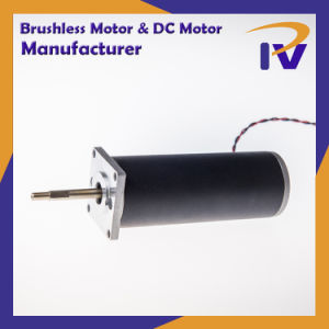 Cepillo de imán permanente Pm motor DC de conducción para el controlador de bomba