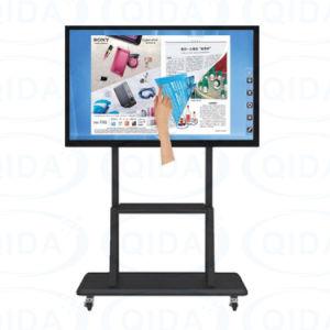 Equipamento educativo toque inteligente do quadro branco interativo para a escola