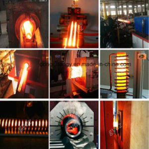 40kw錬鉄の金敷の鍛造材の誘導加熱機械