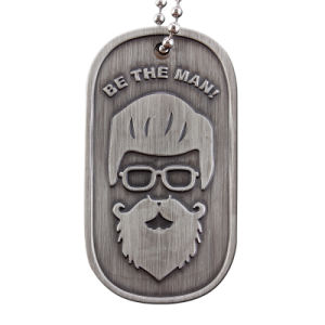 Baratos personalizados con collares de Metal Dog Tag