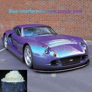 De Vervaardiging van het Poeder van het Mica van het Pigment van de Parel van de Interferentie van de Verf van de auto