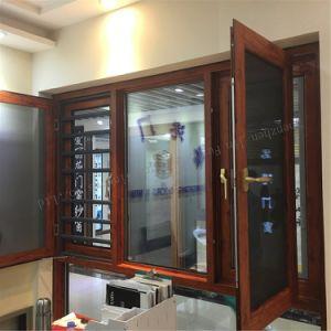 Роскошный дизайн алюминиевая дверная рама перемещена тент окна с жалюзи