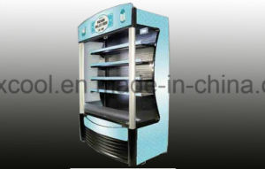 Werbungs-geöffneter Typ Multidesk Getränkekühler mit Bau im Kompressor