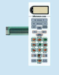 صنع وفقا لطلب الزّبون [ميكرووف وفن] [ممبرن سويتش] جبهة لوحة مفاتيح