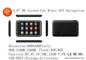 5.0 Polegadas do Sistema de Navegação GPS do veículo com função Bluetooth AV