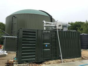 CHP messo in recipienti del biogas di Cummins nel Regno Unito