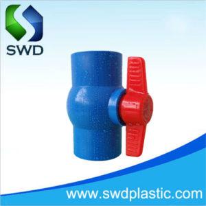 Tis青いカラー工場が付いている標準PVCコンパクトな球弁